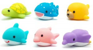 Light up bath toys