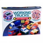 Magna Tiles Working Trucks