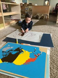 Davidson coloring maps