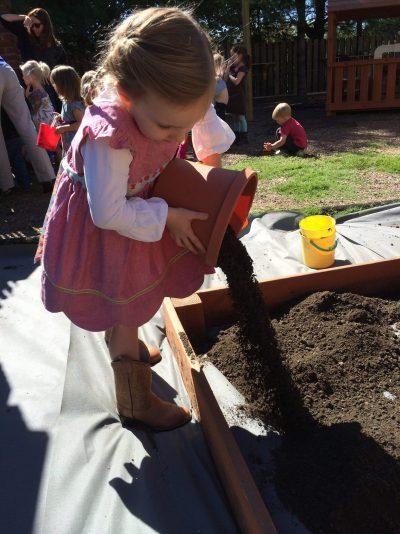 Emerson S gardening