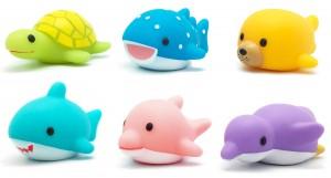 Light up bath toys