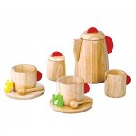 Play Toy Solid Wood Tea Set